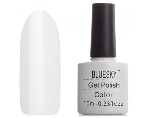 Гель-лак Bluesky Shellac 40501/80501 Cream Puff (Белый)