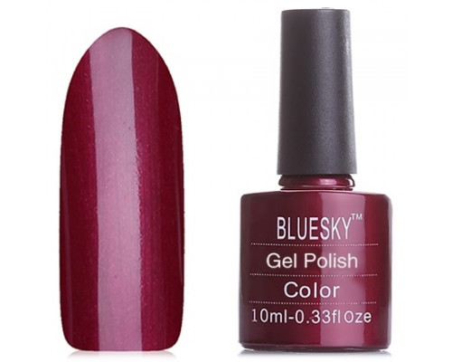 Гель-лак Bluesky Shellac, цвет 40515/80515 Masquerade (Цвет спелой вишни)