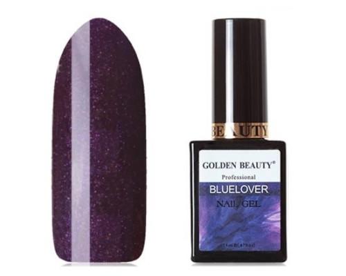 Гель-лак Bluesky Golden Beauty Bluelover №03 (Сливовый с перламутром)