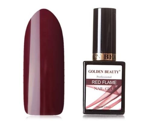 Гель-лак Bluesky Golden Beauty Red Flame №03 (Темно-вишневый)
