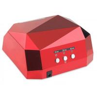 Лампа CCFL+LED гибридная для сушки гель-лака 36 W (красная)