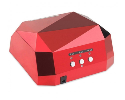 Лампа CCFL+LED гибридная для сушки гель-лака 36W (красная)