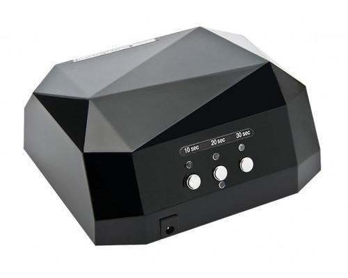 Лампа CCFL+LED гибридная для сушки гель-лака 36W (черная)