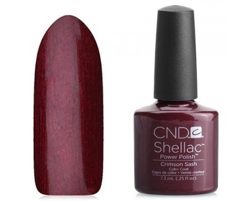 CND Shellac Modern Folklore Crimson Sash 7,3 мл