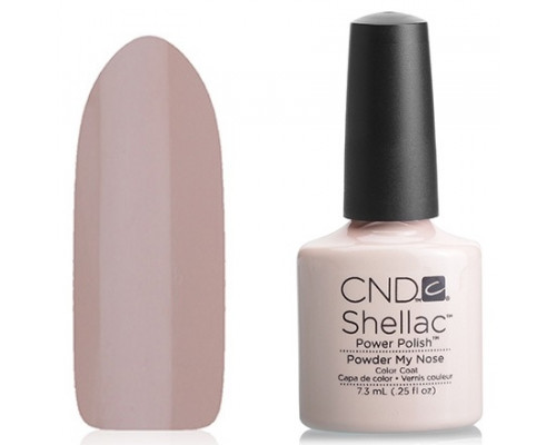 CND Shellac Open Road Powder My Nose 7,3 мл