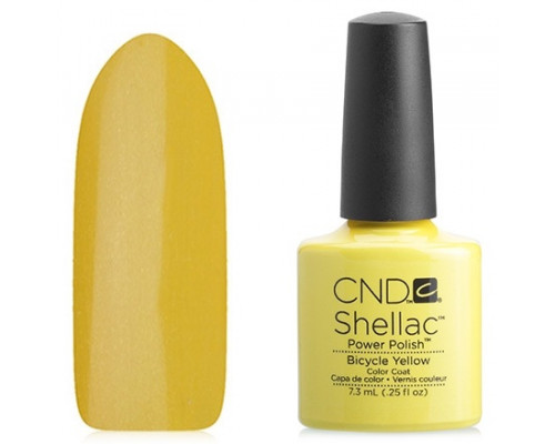 CND Shellac Paradise Bicycle Yellow 7,3 мл