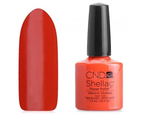 CND Shellac Paradise Electric Orange 7,3 мл