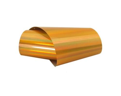 Фольга для дизайна ногтей (Янтарный, солнечный)