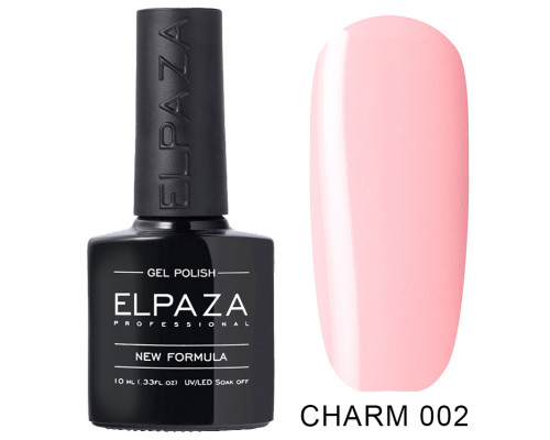 Гель-лак Elpaza 002 Charm Балерина (Светло-розовый)