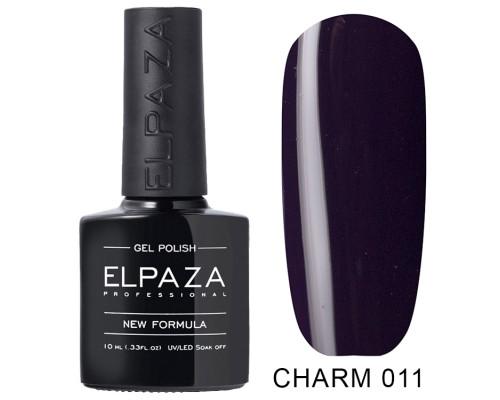Гель-лак Elpaza 011 Charm Одиссея (Темно-фиолетовый)