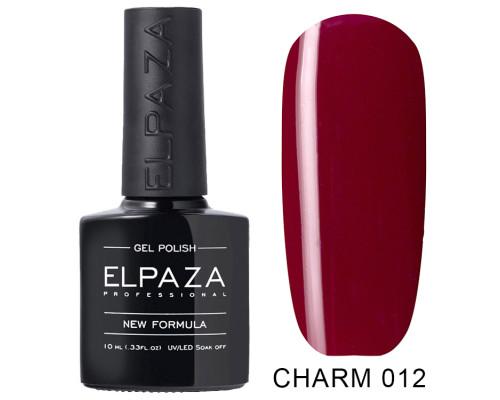 Гель-лак Elpaza 012 Charm Миранда (Бордовый)