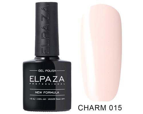 Гель-лак Elpaza 015 Charm Фея (Светло-розовый)