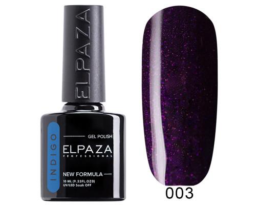 Гель-лак Elpaza 003 Indigo Пурпурный Гиацинт