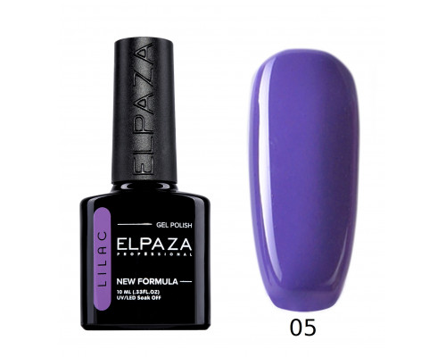 Гель-лак Elpaza 05 Lilac Пурпурный клен (Фиолетово-синий)
