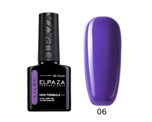 Гель-лак Elpaza 06 Lilac Лавандовое поле (Светло-фиолетовый)