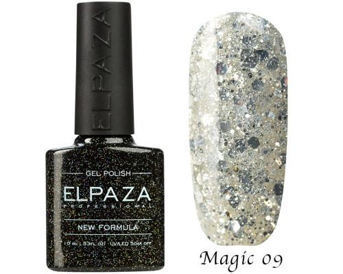 Гель-лак Elpaza 09 Magic Glitter Волшебство