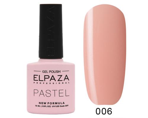 Гель-лак Elpaza 006 Pastel Будапешт