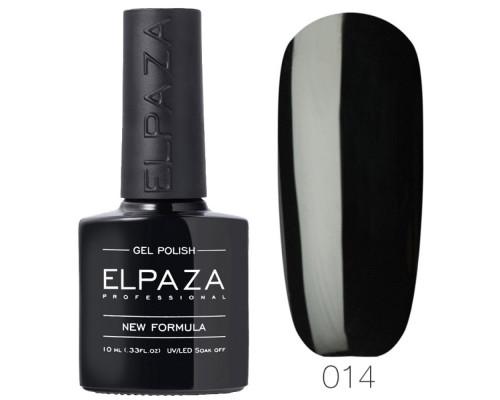Гель-лак Elpaza 014 Истинно черный