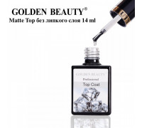 Matte Top (Матовый топ) Golden Beauty Bluesky без липкого слоя 14 ml
