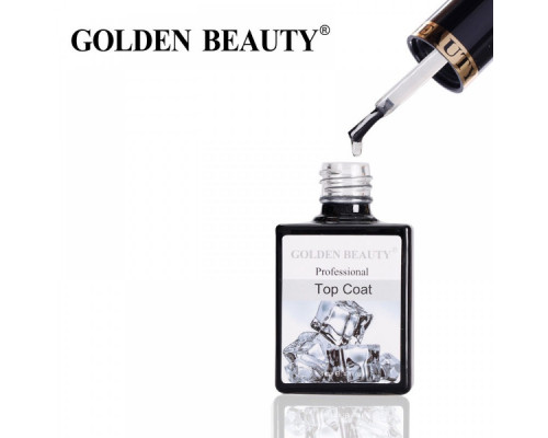 Top (Топ) Coat Golden Beauty Bluesky с липким слоем 14 ml