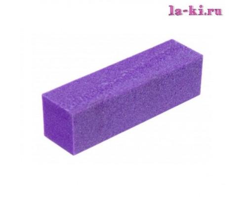 Баф для полировки ногтей (фиолетовый)