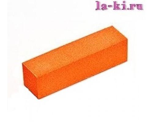 Баф для полировки ногтей (оранжево-красный)