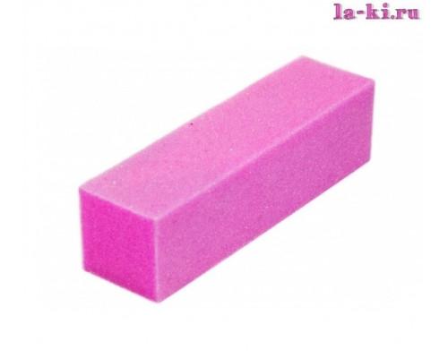 Баф для полировки ногтей (розовый)