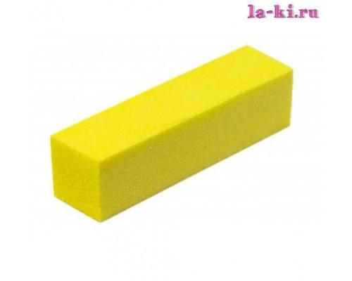 Баф для полировки ногтей (желтый)