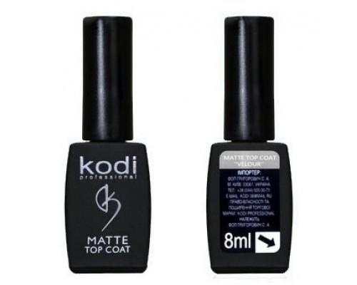 Топовое покрытие Kodi Matte Top Velour матовое 8 мл