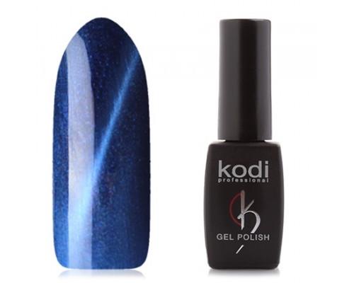 Гель-лак «Кошачий глаз», Kodi, Moon Light, №742 (Насыщенный синий, с перламутром)