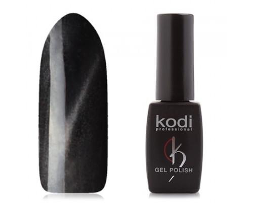 Гель-лак «Кошачий глаз», Kodi, Moon Light, №780 (Черный, с пепельным перламутром)