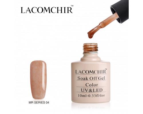 Гель-лак плюшевый Lacomchir MR 04 (Розово-бежевый)