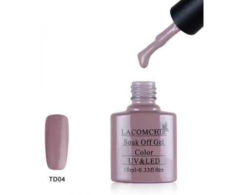 Гель-лак Lacomchir TD 04 (Бежево-розовый)