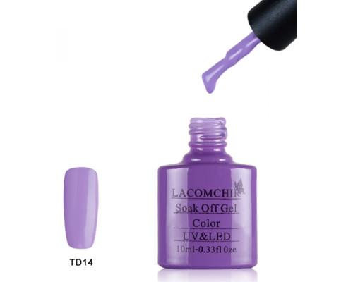 Гель-лак Lacomchir TD 14 (Пурпурный)