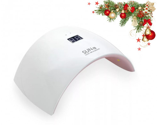 Светодиодная лампа UV-LED SUN 9S 24W с дисплеем