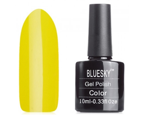Гель-лак Bluesky Shellac, цвет N03 (Желтый)