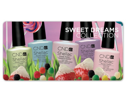 CND Shellac Sweet Dreams Collection