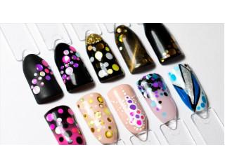 Конфетти-камифубуки на ногтях! Модный тренд 2018-2019!