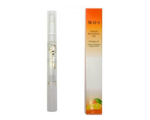 Масло для кутикулы MDS Cuticle Revitalizer Oil, карандаш с кисточкой, 5 ml. (Апельсин)
