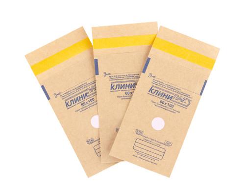 Крафт-пакеты Клини-Пак для стерилизации 100 штук