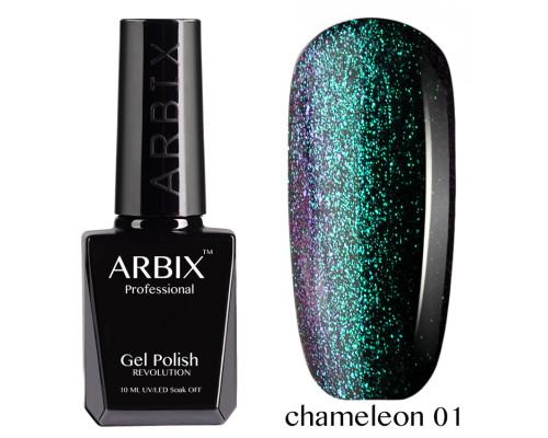 Гель-лак Arbix Top Chameleon 01