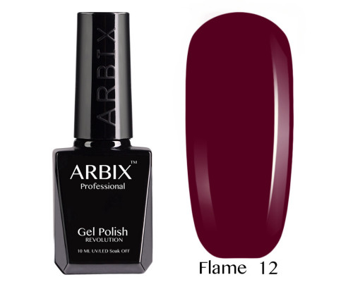 Гель-лак Arbix Flame 12 Тайное Желание
