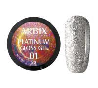 Гель Arbix Platinum Gloss Gel 01