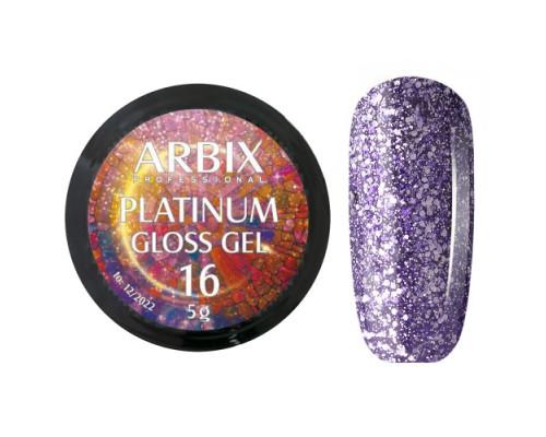 Гель Arbix Platinum Gloss Gel 16