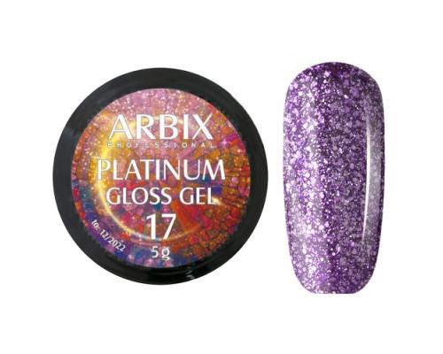 Гель Arbix Platinum Gloss Gel 17