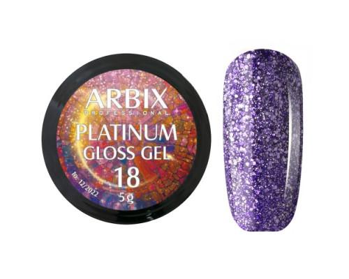 Гель Arbix Platinum Gloss Gel 18