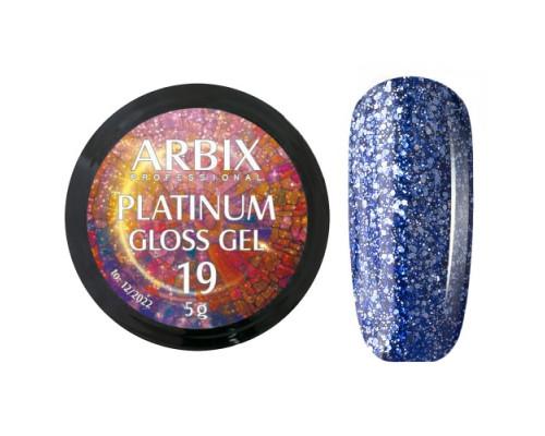 Гель Arbix Platinum Gloss Gel 19