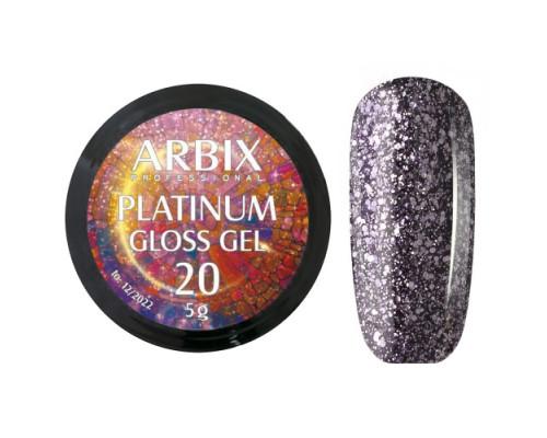 Гель Arbix Platinum Gloss Gel 20