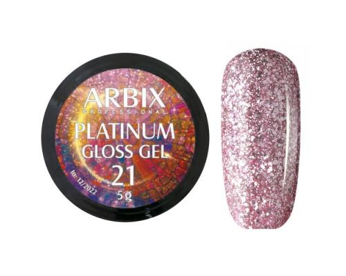 Гель Arbix Platinum Gloss Gel 21