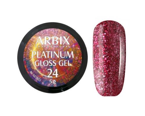 Гель Arbix Platinum Gloss Gel 24